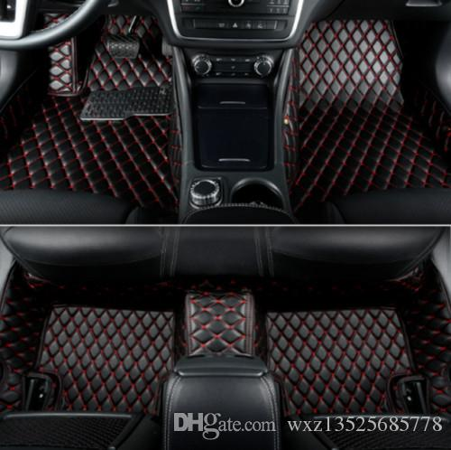 Araç Paspaslar İçin Mitsubishi 2013 ~ 2016 Toksik değildir ve kokusuz-7seats outlander
