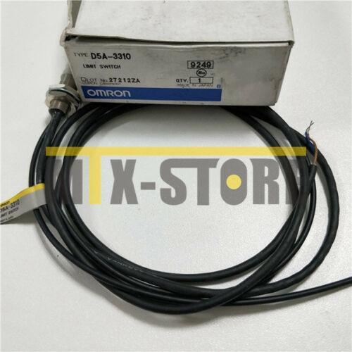 1pcs nuevo Omron alta precisión interruptor D5A3310