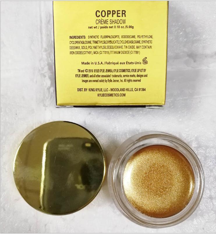 Aniversário da sombra Stock Branded Creme Eye Editon Copper Shimmery pigmentado único Eyeshadow Dropshipping Maquiagem