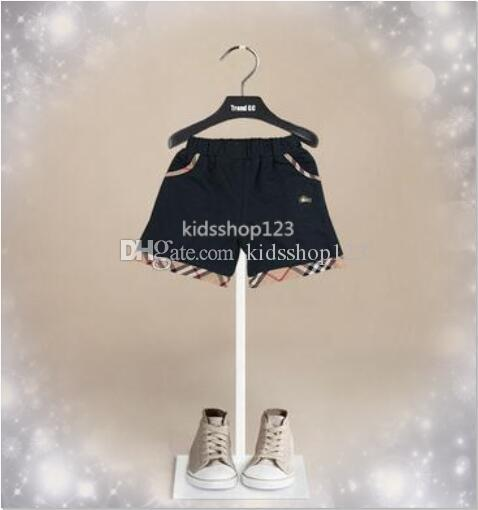 Été 2-6Y Enfants Shorts Designer Pour Filles Garçons 2 couleurs Shorts enfant en bas âge culottes pour enfants Plage courtes sport Pantalons garçon