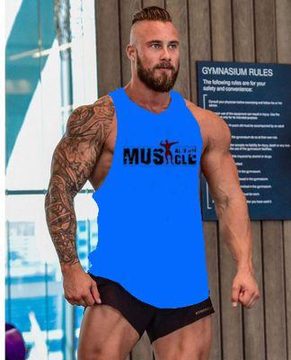 GYM étonnante hot capitaine capitaine Amérique cool Bodybuilding Fittness Shirt marque vêtements Singlets Mens Tank Top Muscle Shirt