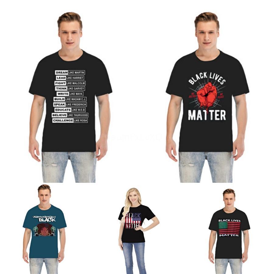 Lives noir Matter! Designer T-shirts pour hommes Hauts tête de tigre Lettre de broderie T-shirt pour hommes Vêtements de marque T-shirt à manches courtes femmes 1949 # 67