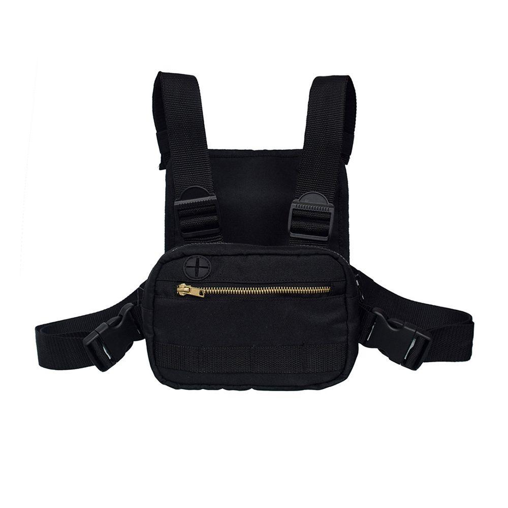 2019 Mini Men Chest Rig Streetwear Outdoor Sports Waist Bag Climbing Shoulder Bag Phone Money Belt Tactical Chest