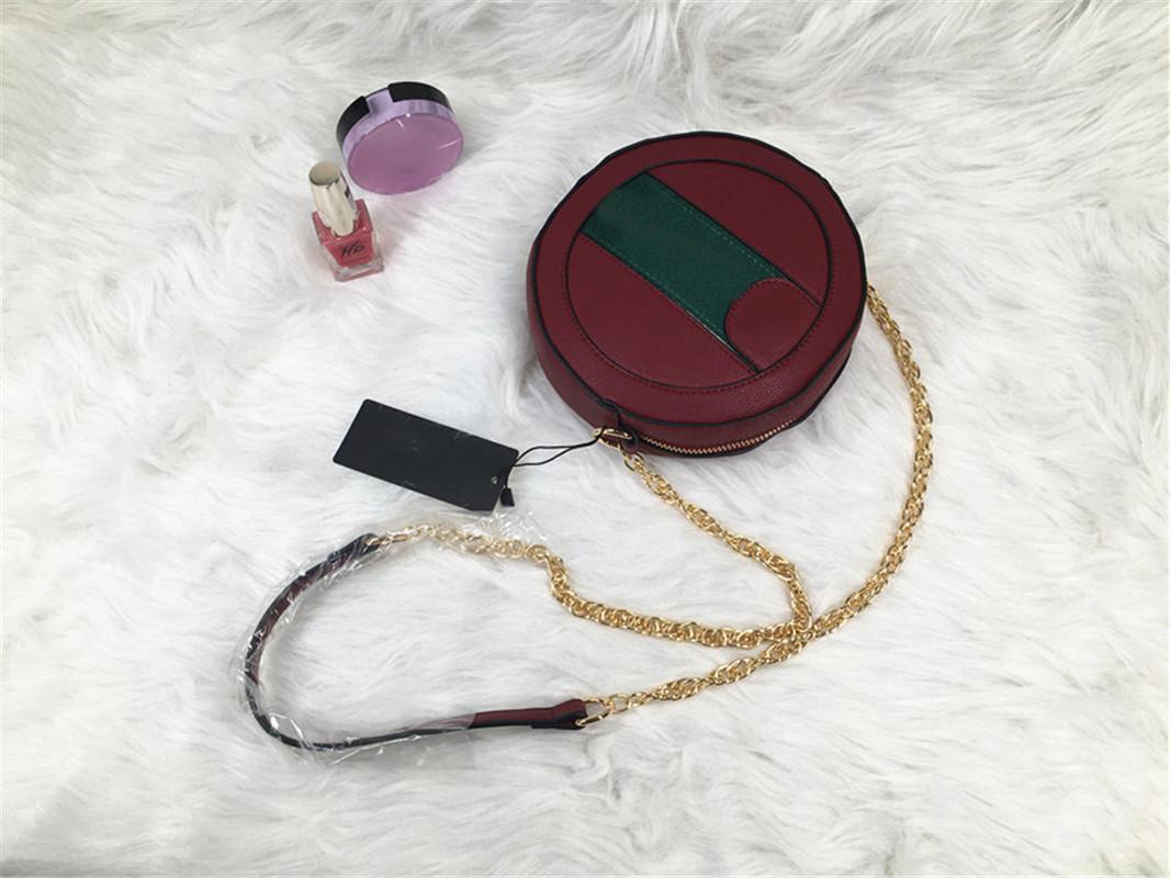 Designer Luxury Shoulder Bag Women Designer Shoulder Bag Vintage Color Collision New Autumn and Winter Mini Round Packet Fashion Hot 2
