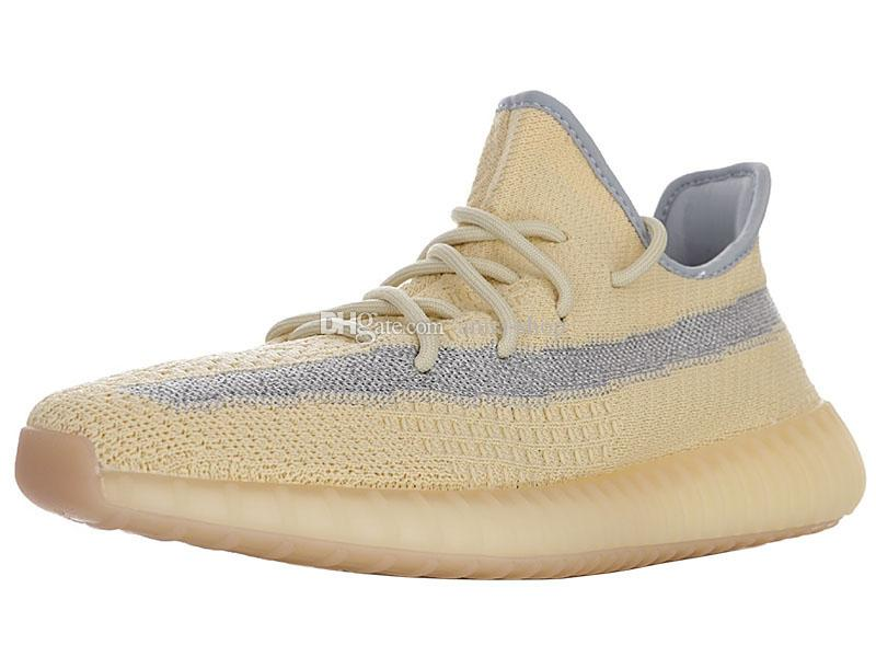 Kanye West V2 Biancheria scarpa da tennis per Scarpe kanyewest riflettenti Sneakers Mens Yeezes sport degli uomini 3M Casual scarpe da donna Womens Sport Scarpe