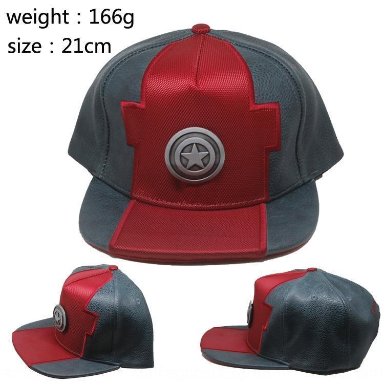 Flash gorra de béisbol metal de la manera de destello Mujer Maravilla gorra de béisbol casquillo