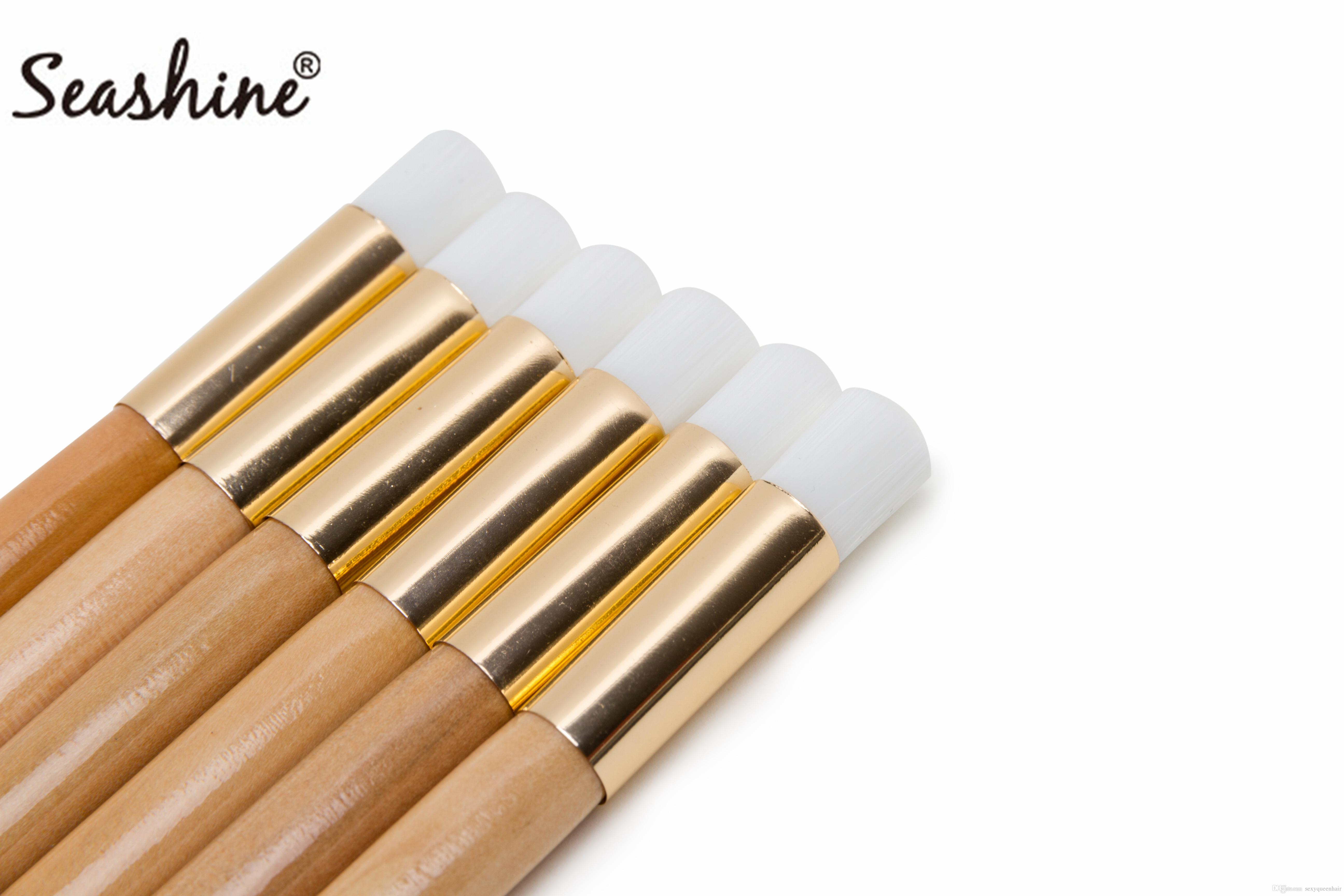 Seashine Horse Hair 10 PCS Wood Cleaning Brush Nose Brush Cleansing Brush Cleaning Use Long Time Factory Whosale Price For Free Shipping