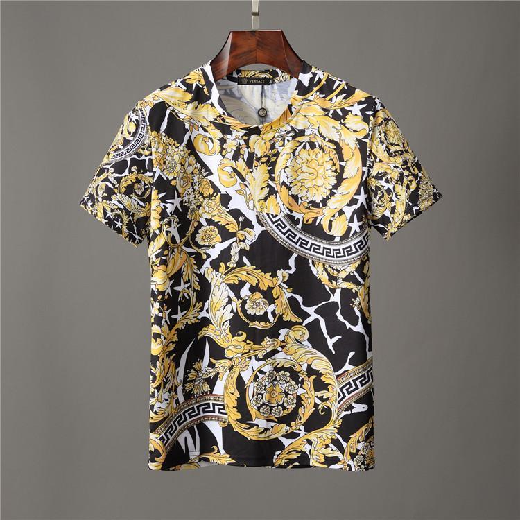 2020 Mens Shirt Designer estate delle parti superiori delle magliette casual per Camicia a maniche corte Uomo Abbigliamento Donna Lettera Marca Modello Stampato Tees girocollo