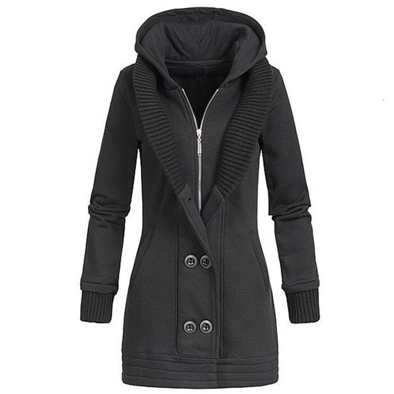 Rosetic Jacke Frauen-Winter-Mode warme starke feste kurze Art Baumwolle gepolstert Parkas Mantel Stehkragen Y191206