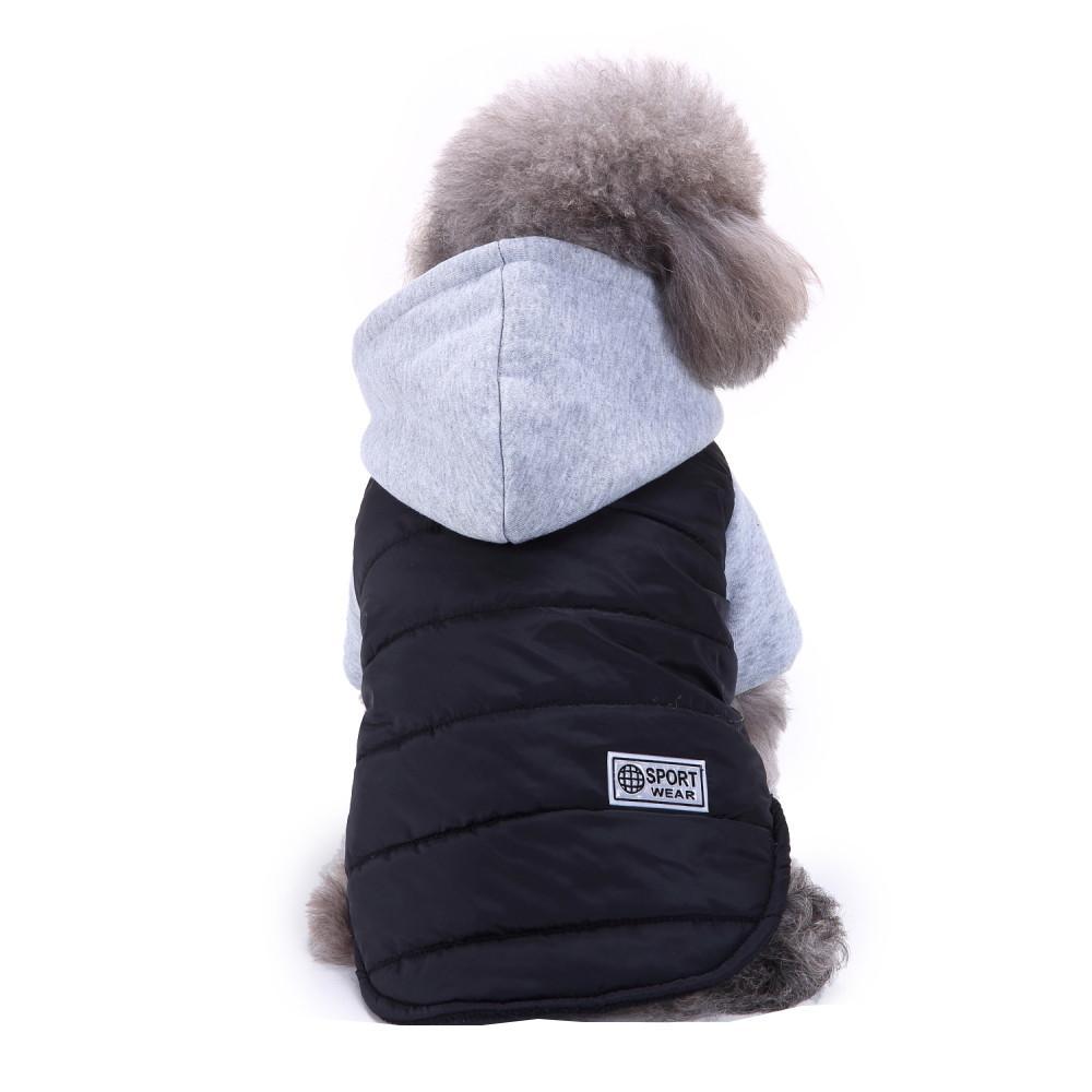 Hiver Pet Manteau pour chien Veste vêtements chauds pour petits chiens Chihuahua Pug bouledogue français Vêtements chiot chiot Manteau Vêtements Vêtements