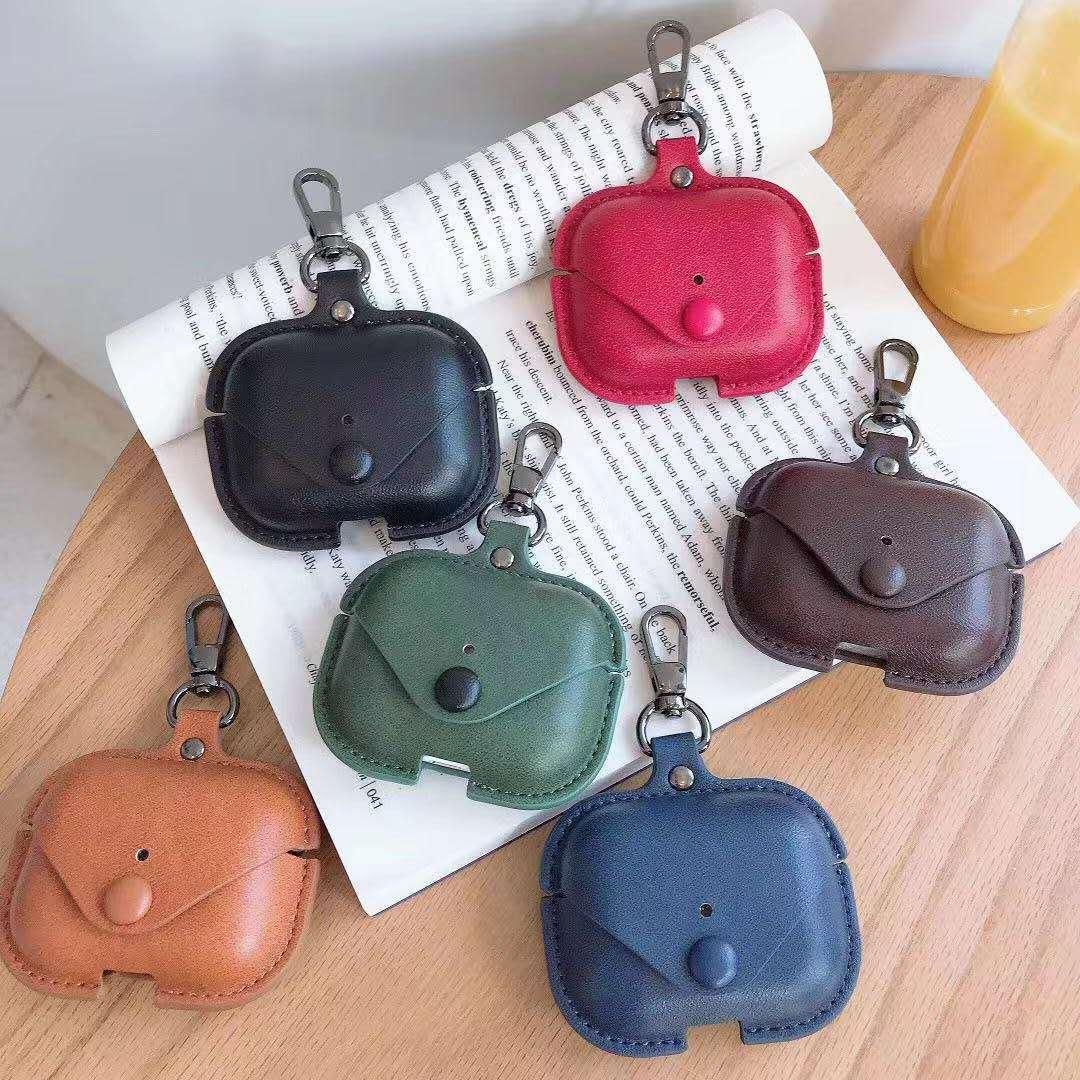 Fashion earphone shell suitable for airpods pro case leather stereotyped airpods1 / 2/3 generation case wireless Bluetooth headset cover-11
