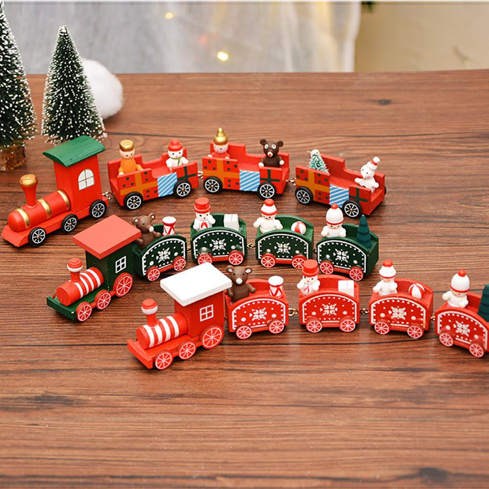 Woods Weihnachtszug Kleine Kinder Kindergarten Festliche Weihnachtsdeko Oktober # 04
