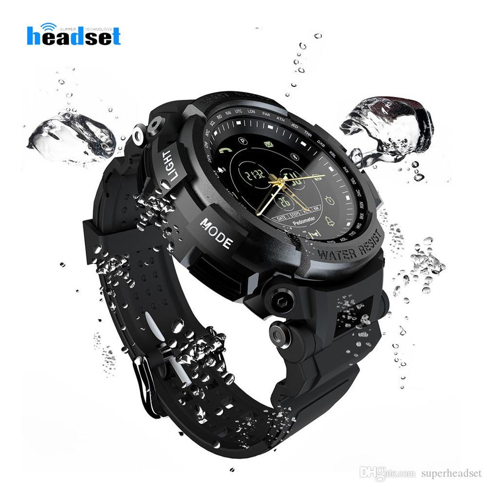 Mk28 sport smart watch leben wasserdicht bluetooth anruferinnerung digitaluhr lange standby-zeit smartwatch für ios android