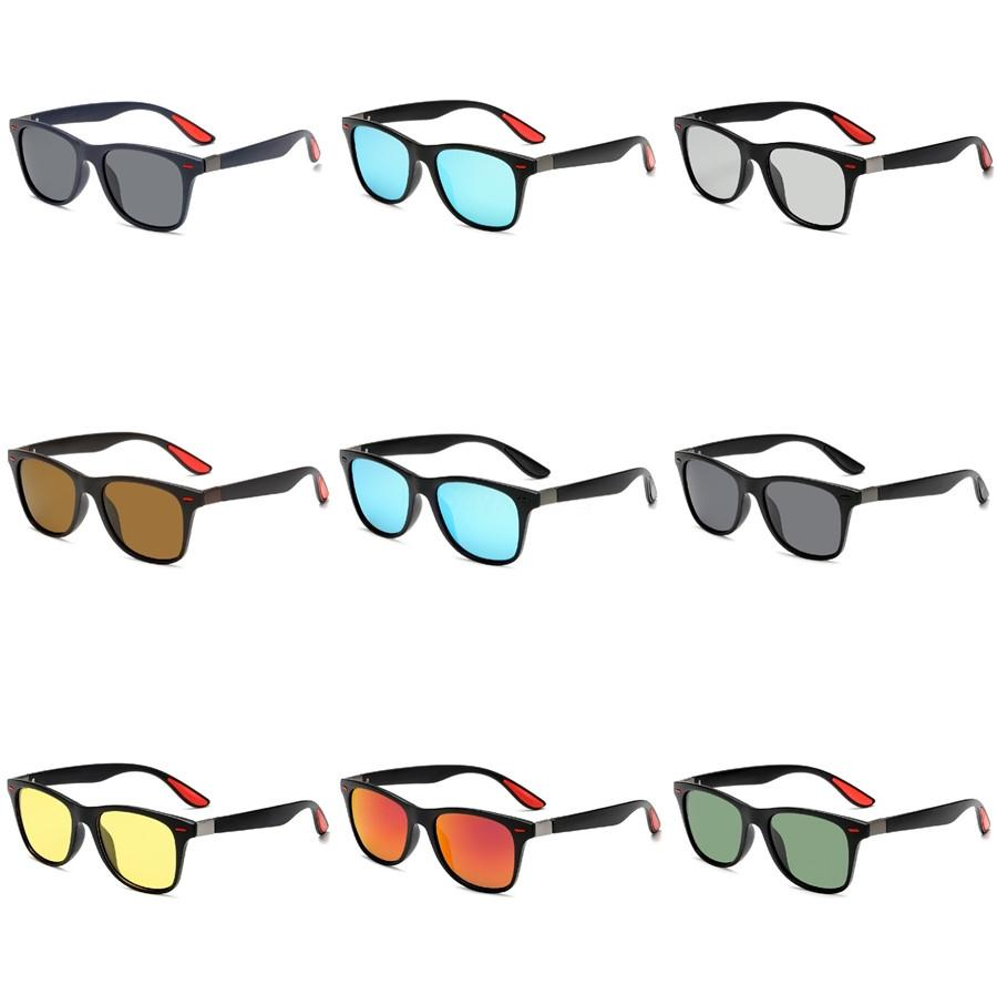 2020 Yeni Sıcak Satış Vintage Bambu Ahşap Güneş gözlüğü El yapımı Polarize Ayna Kaplama Lensler Gözlük Spor Gözlük # 917
