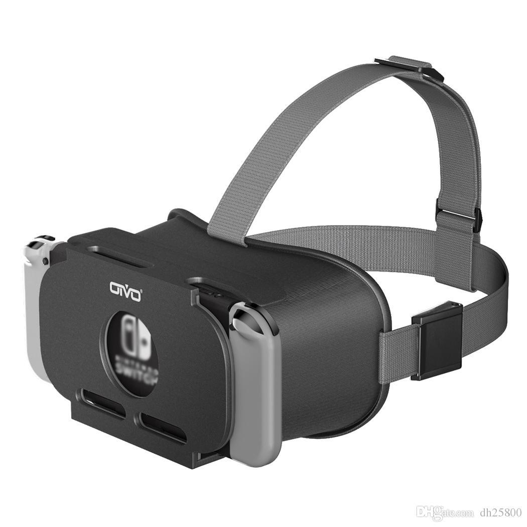 CRIOC Commutateur VR Micro-casque pour Nin commutateur LABO VR lunettes de réalité virtuelle Films Commutateur Jeu NS VR 3D lunettes pour les Jeux Odyssey