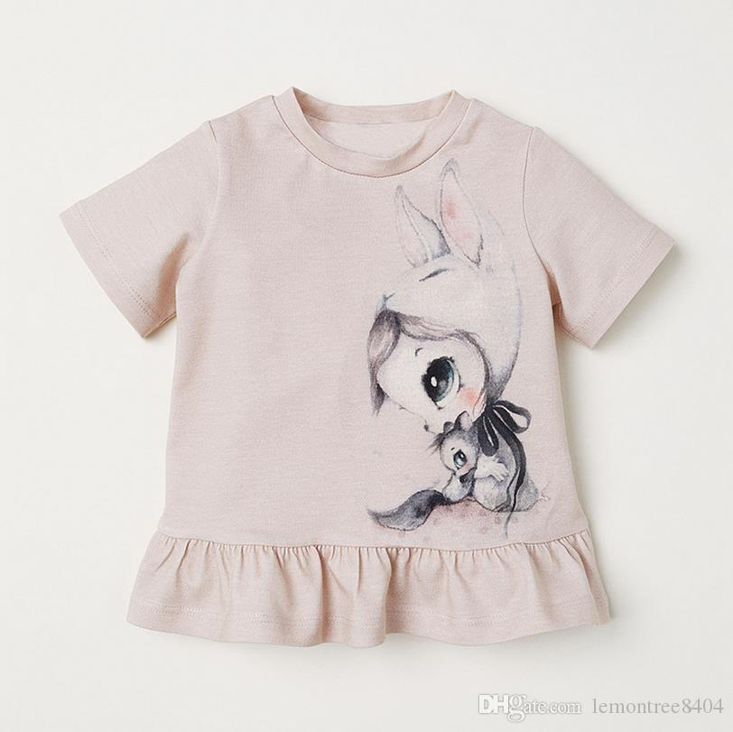 lace up in fresh styles purchase cheap 2019 Designer Kids T Shirt Colorful Girls Baby T Shirt For Girls Blouses  Printed T Shirt Kids Short Sleeve For Summer 100%cotton China Factory From  ...