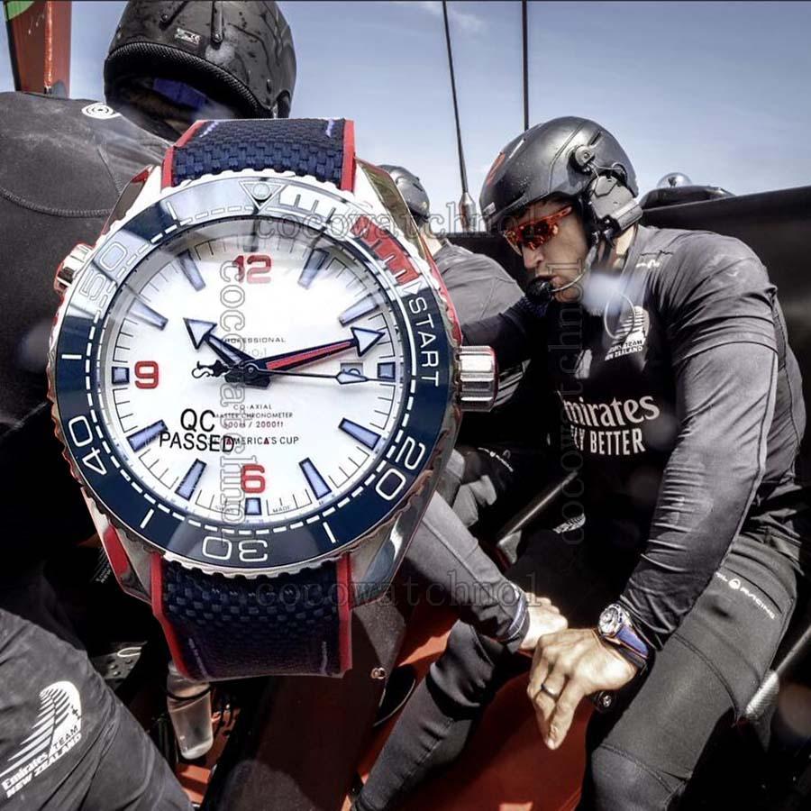 007 marca Diver 300M de relojes de pulsera de acero 50a reloj más nuevo de la raza superior reloj de los hombres de la Copa América Yachting para hombre de James Bond