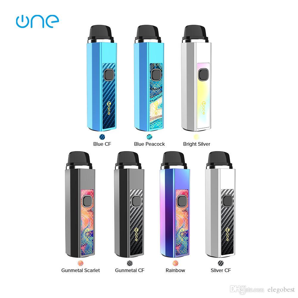 OneVape Mace 55 Pod Kit Built-in 1500mAh Batterie mit 3,5 ml Mehrweg-Mace Pod und 3 Stufen einstellbare Spannung 100% ursprünglicher