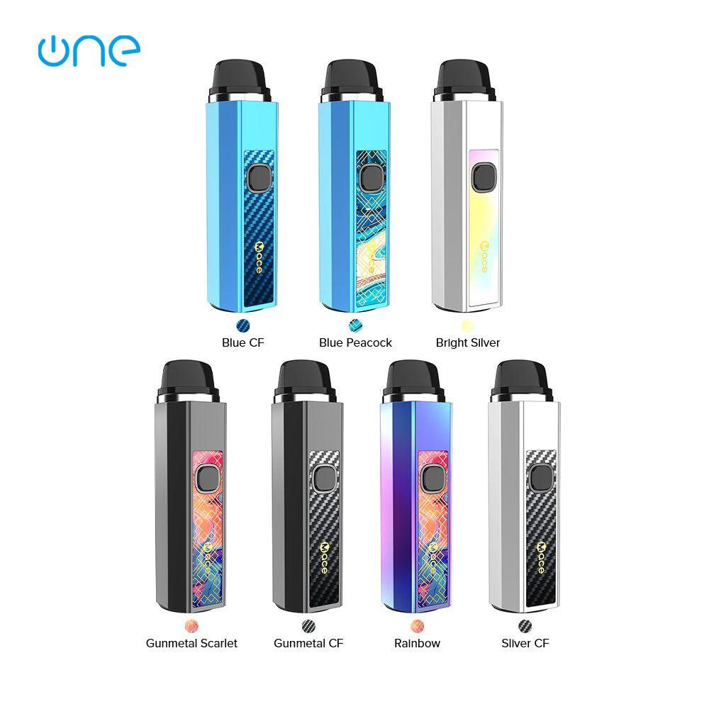 OneVape Mace 55 Pod Kiti Dahili 1500mAh batarya ile 3.5 mi doldurulabilir Mace Pod ve 3 kat ayarlanabilir gerilim% 100 Orijinal