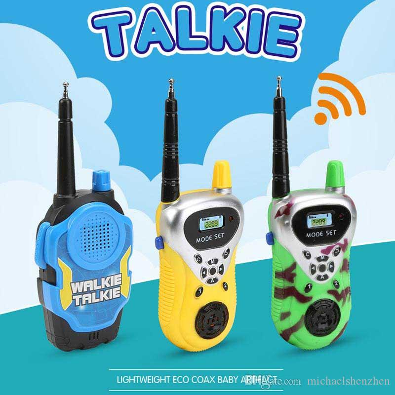 Kids Walkie Talkie Toys Dress up Toys for boys and girls used at home park and outside best Xmas gifts for children C52