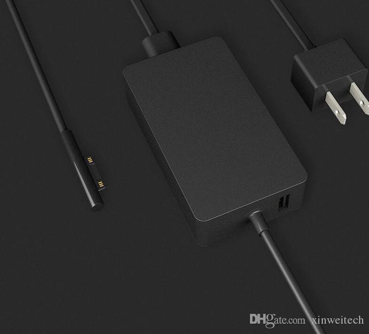 새로운 44W 15V 2.58A 표면 PRO 용 전원 어댑터 PRO USB 충전기 태블릿 PC 1800