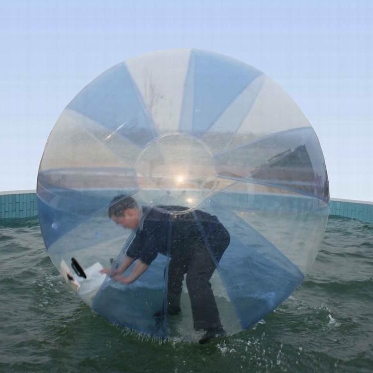 فيديكس الحرة شعبية المشي المياه الكرة pvc نفخ zorb المياه المشي الرقص الرياضة كرة الماء 2 متر