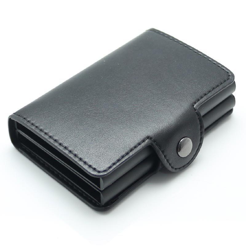 Роскошное РФИД преграждая кожаный держатель паспорта для людей и женщин