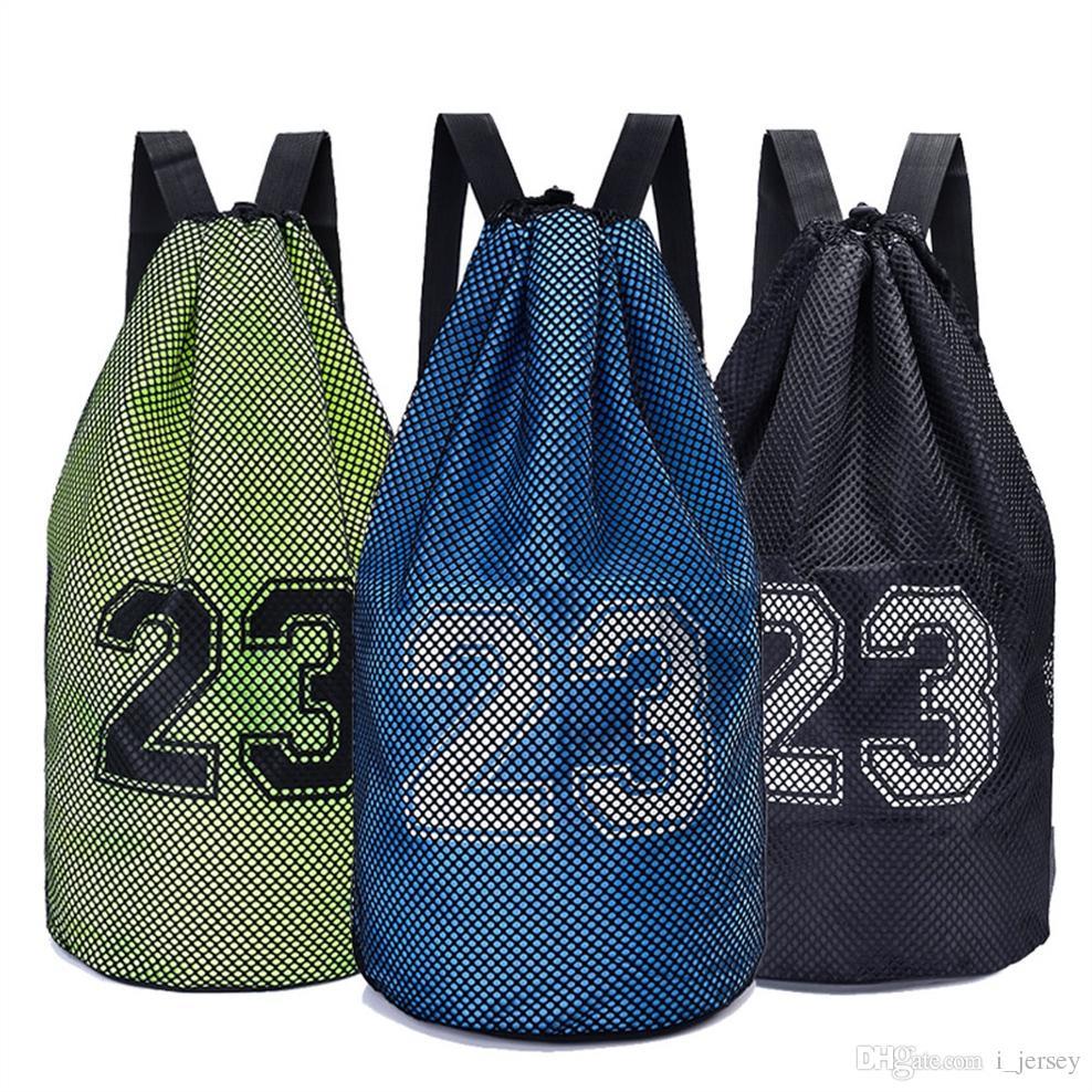 Large basketball bags For balls Soccer Drawstring Mash pack Fitness Bucket Bag Outdoor Basketball Backpack For Men J781522 #248318