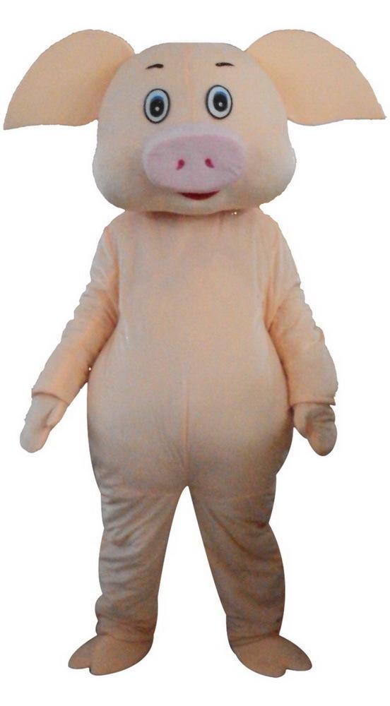 Costumes Pig mascotte personnage de dessin animé adulte Sz 100% réel Picture33