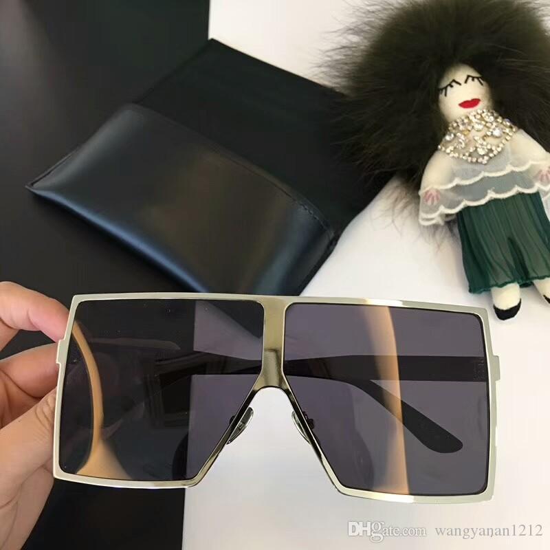 أحدث بيع الأزياء الشعبية 182 النساء نظارات شمسية نظارات شمسية الرجل الرجال النظارات الشمسية Gafas دي سول أعلى جودة نظارات الشمس UV400 عدسة