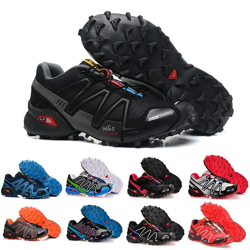 Concepteur Salomon Outdoor Chaussures Speedcross 3 CS Noir