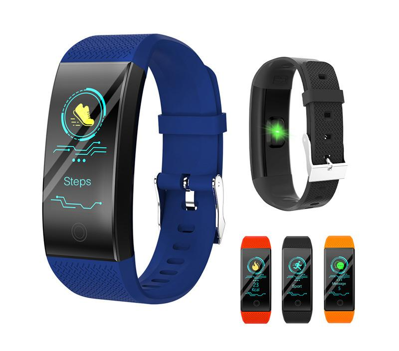 QW18 Smart Wristband Intelligent Sport Bracelet Fitness Sleep Tracker IP68 Pulse Watch Outdoor Smartband for cellphone