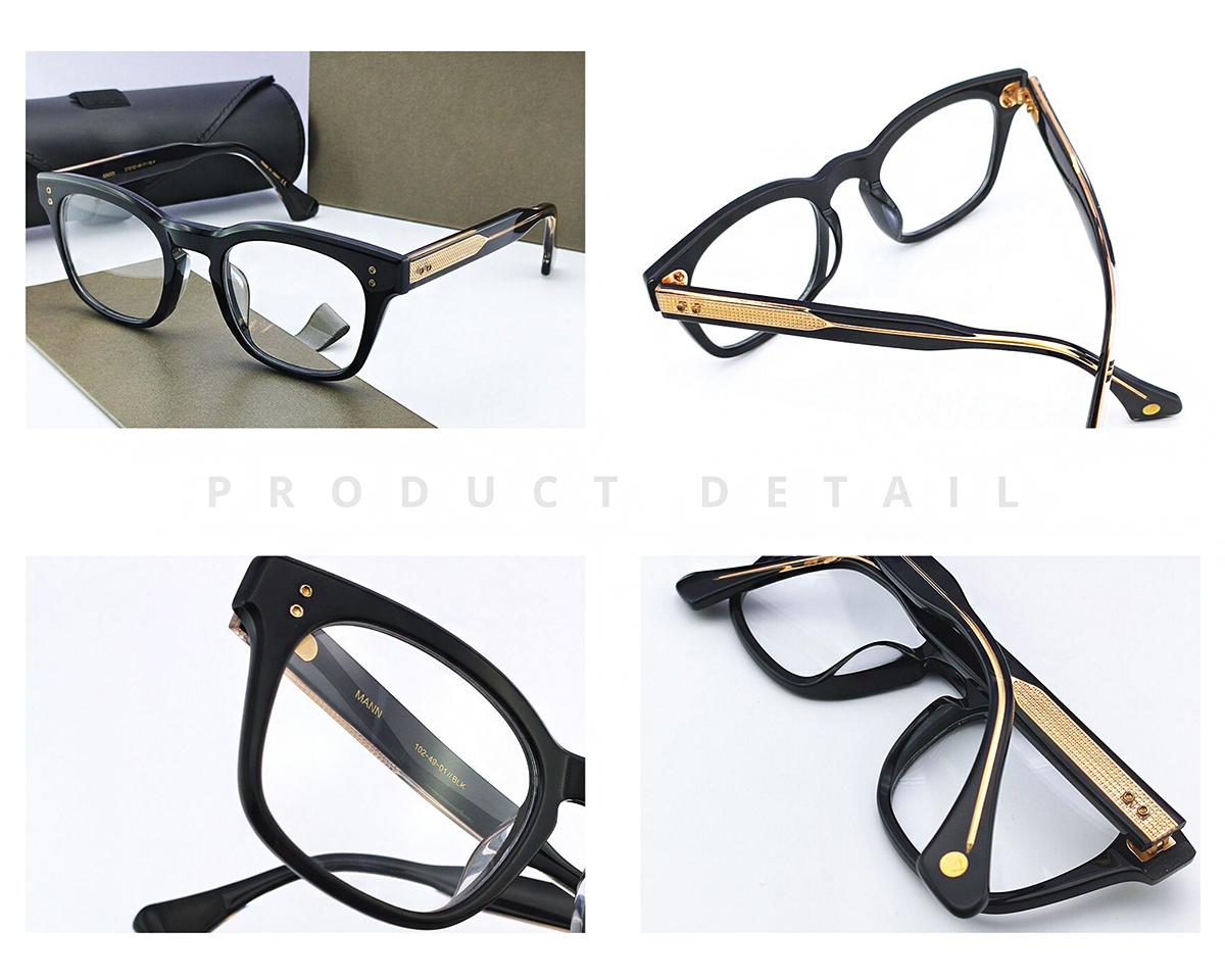 Mulheres Moda MANN Eye Vintage Transparente Óculos Limpar Óculos Miopia presbiopia prescrição óptica Armações