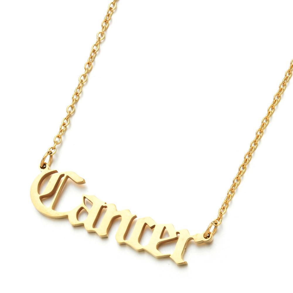 12 CONTELL Ожерелье из нержавеющей стали золотые цепи ожерелья ожерелья кулон женские мода ювелирные изделия будут и песчаный подарок