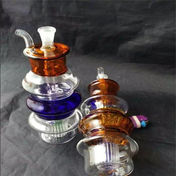 석유 굴착 승 흡연 여러 가지 빛깔의 탑 담뱃대 기억 만 액세서리, 유리 물 파이프 흡연 파이프 여과기 유리 기억 만 석유 버너 물 파이프