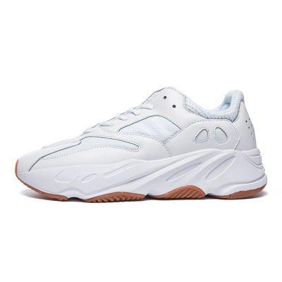 3M 700 Vanta Geoda Estática Kanye West Wave Runner Inercia Malva Sal Gris Sólido Deportivo Hombres Mujeres Zapatos de Bowling Diseñador Zapatillas 36-44
