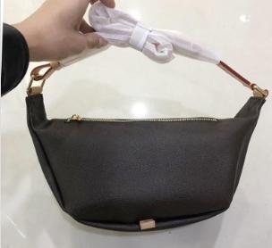 Calidad de envío libre diseño del bolso de la cintura bolso del corazón Bolsas alta cartera de la mujer de cintura del cuero genuino bolsos de Crossbody 43644