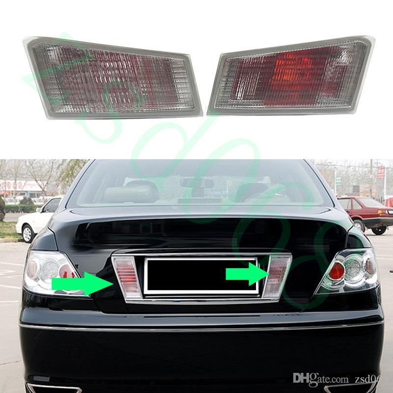 ليغطي Reiz تويوتا مارك X 2005-2009 السيارات السيارات الخلفي رخصة ضوء مصباح لا لمبات استبدال