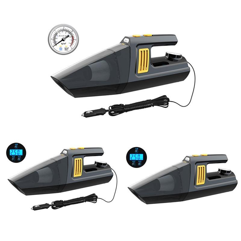 Carro Aspirador Carro Com alta potência 12V portátil com ponteiro Bomba de ar de dupla utilização húmida e seca quatro em um