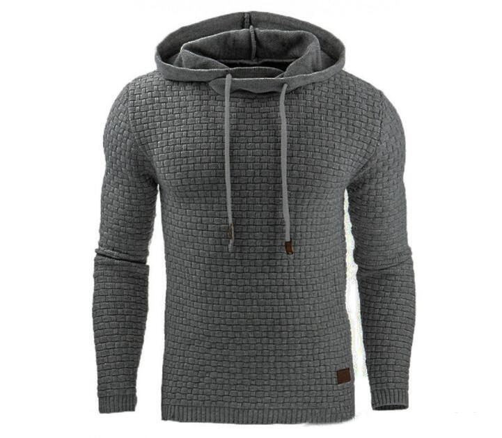 Casual Winter Mens Solid Color Sport Hoodies Autumn Spring Hooded Casual Long Sleeved Designer Sweatshirts Mens Clothing