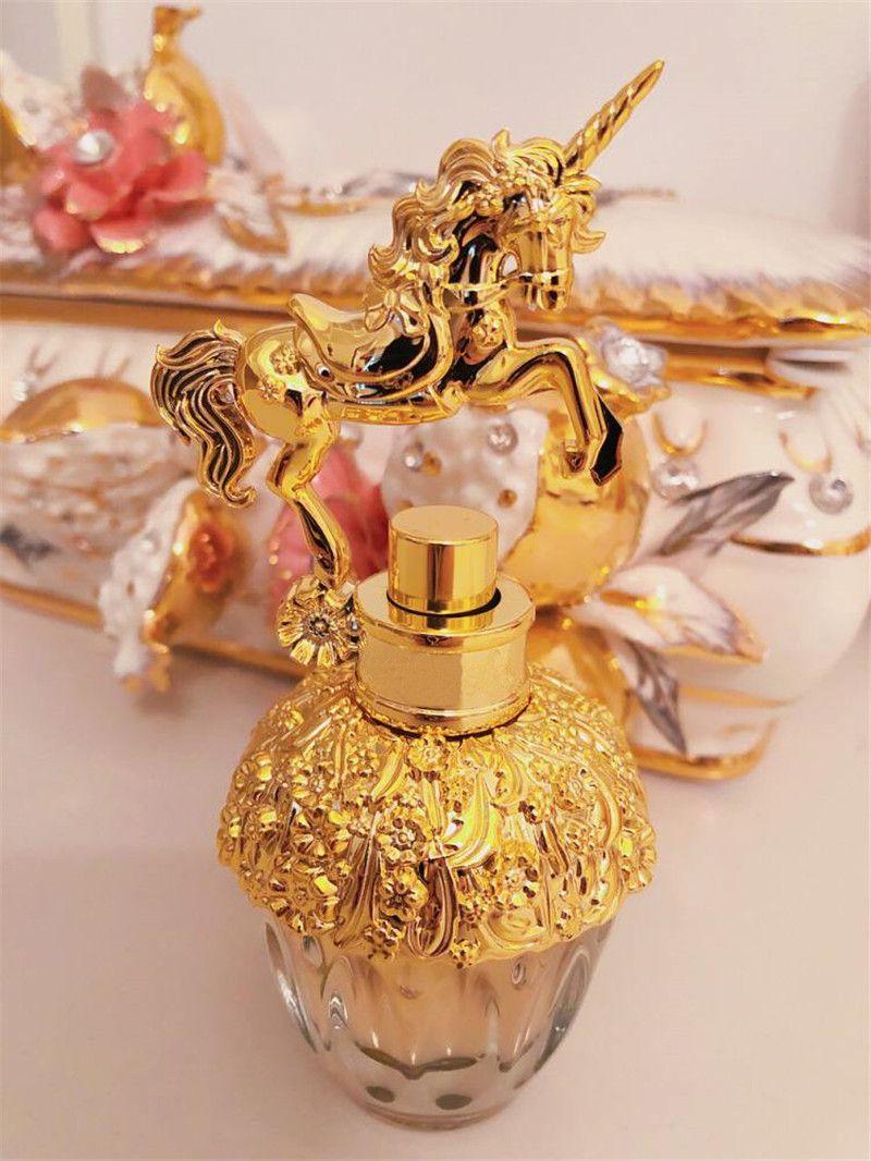 El pefume Trendy Unicorn para mujer, diseño hermoso, fragancia, de larga duración, colonia natural 75 ml de envío libre de DHL.