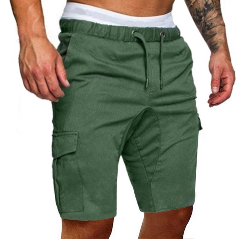 Casual LASPERAL Mens Shorts fitness coulisse Pantaloni corti Pantaloncini alta qualità 2020 multi-tasca dei nuovi uomini di sport