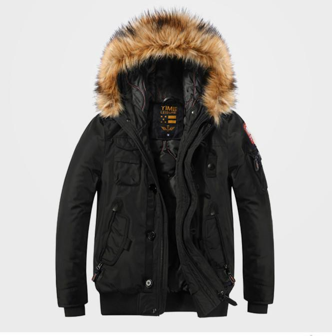 Men Dedigner Fashion Parkas Coats 2020 Brand Thick Warm Jackets Luxury Hooded Slim Coats for Men 3 Colors Brand Clothes 2020 For Wholesale
