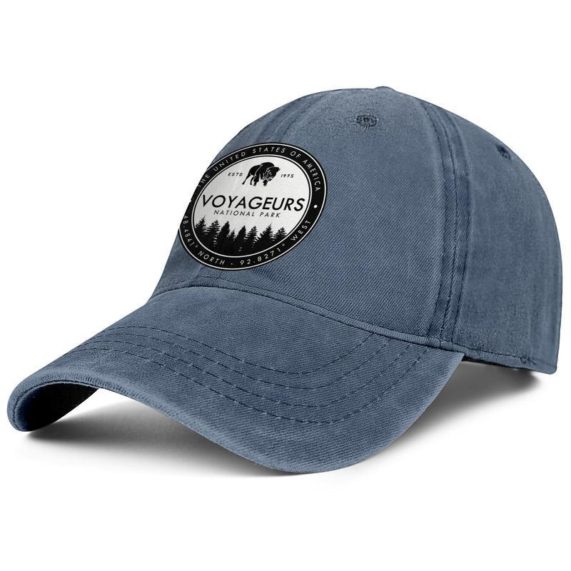 Voyageurs National Park Baseball Hats Mens Woman Adjustable Mesh Trucker Flat Cap