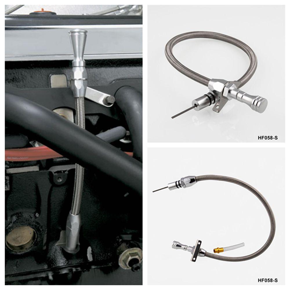 Asta di trasmissione flessibile inox 350 TH350 Tranny SBC BBC Trans per Chevrolet