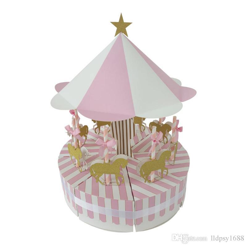 8 adet Benzersiz Atlıkarınca Hediye Kutusu Düğün Parti Şekeri Bebek Duş Hediyelik Eşya Şeker Kutusu Doğum Günü Düğün Iyilik Ve Hedi ...