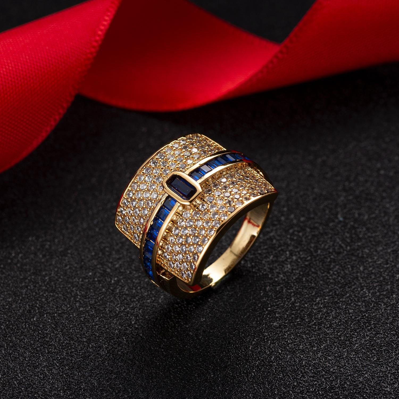 Amazon Взрывной Личность Креативных Цветные Циркон кольцо Простых цветные кольца Wih Приграничных электронная коммерция Горячие продавая кольца