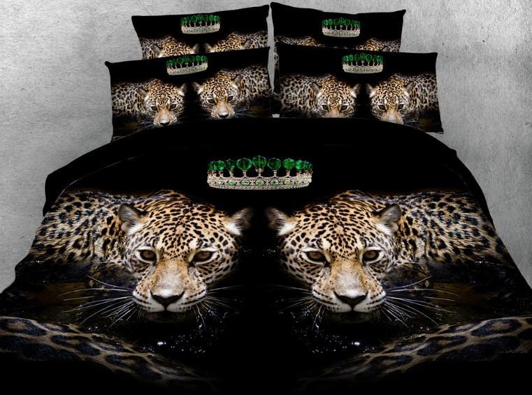 Piumone Matrimoniale Leopardato.Acquista Biancheria Da Letto Leopardata Di Lusso Comforter