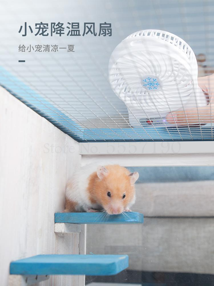 Small Hamster Cage My Neighbor Totoro Cabinet Cage Drawer Oversized Villa Golden Bear Base Cage Hedgehog Feeding Box