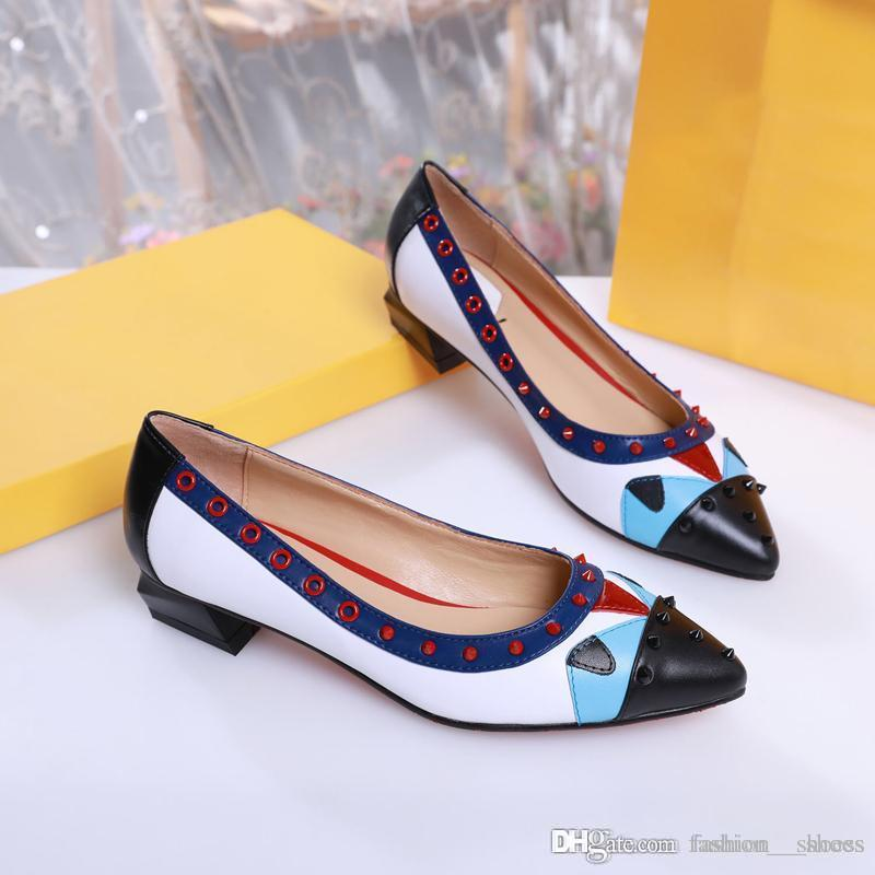 2019 fashion designer shoes women shoes Designer high heels womens heels shoes size 4.5-8 -42